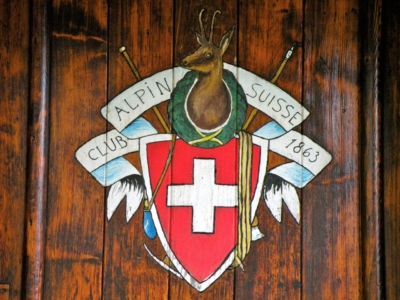 Club Alpin Suisse section de Vallorbe armoiries